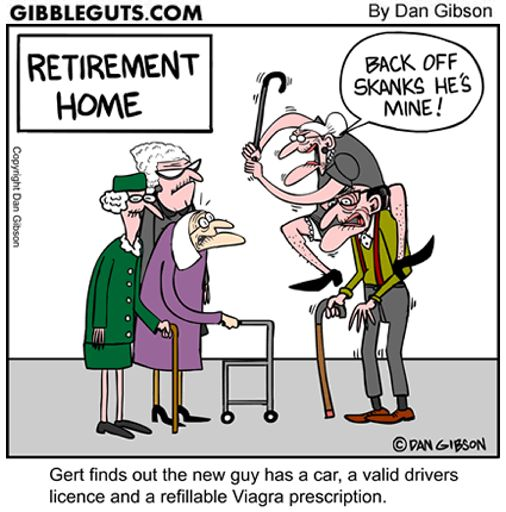Funny Old Lady Nursing Home Cartoons