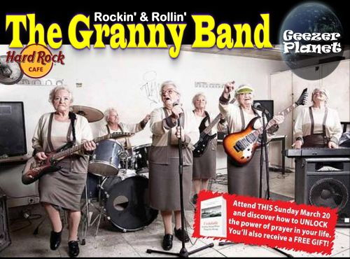 Final, Granny rock absolutely